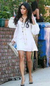 "Vanessa Hudgens Heading to "" HSM3"" Premiere"